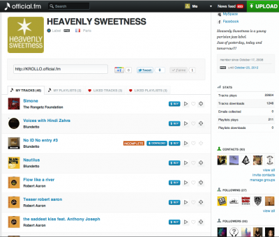 Heavenly Sweetness OFFICIAL.FM