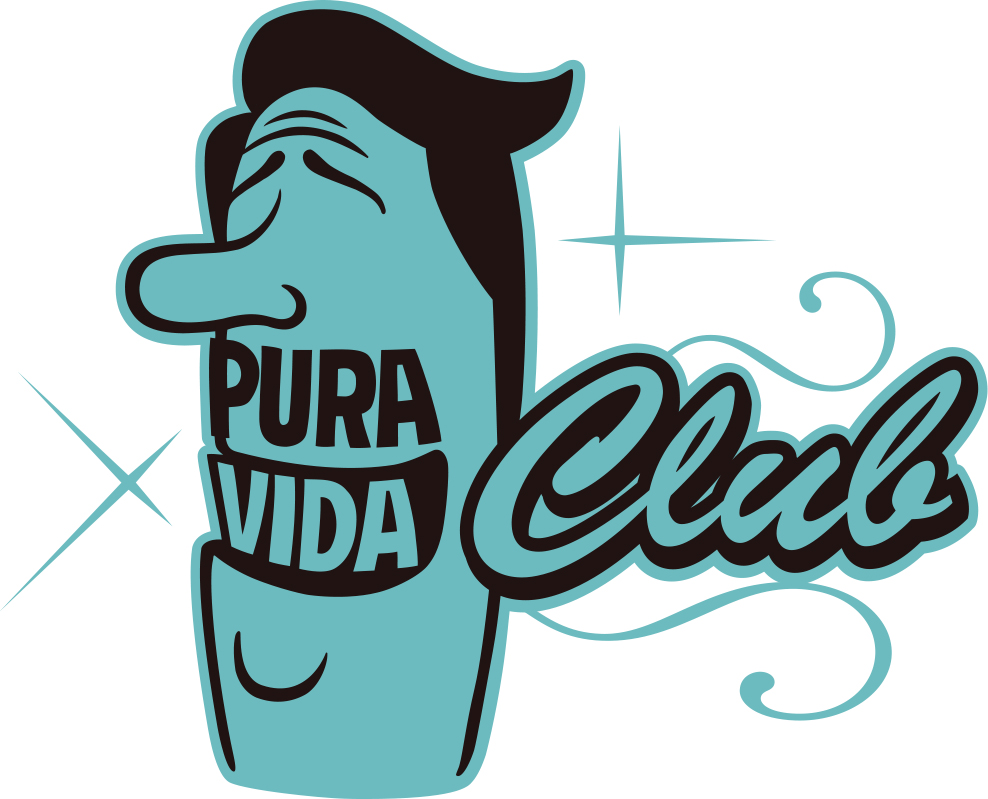 logo pura vida club bleu - Heavenly Sweetness